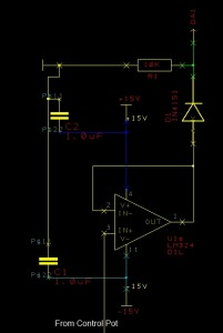 CS15D manual control subcircuit