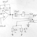 TR-505 individual output sub circuit